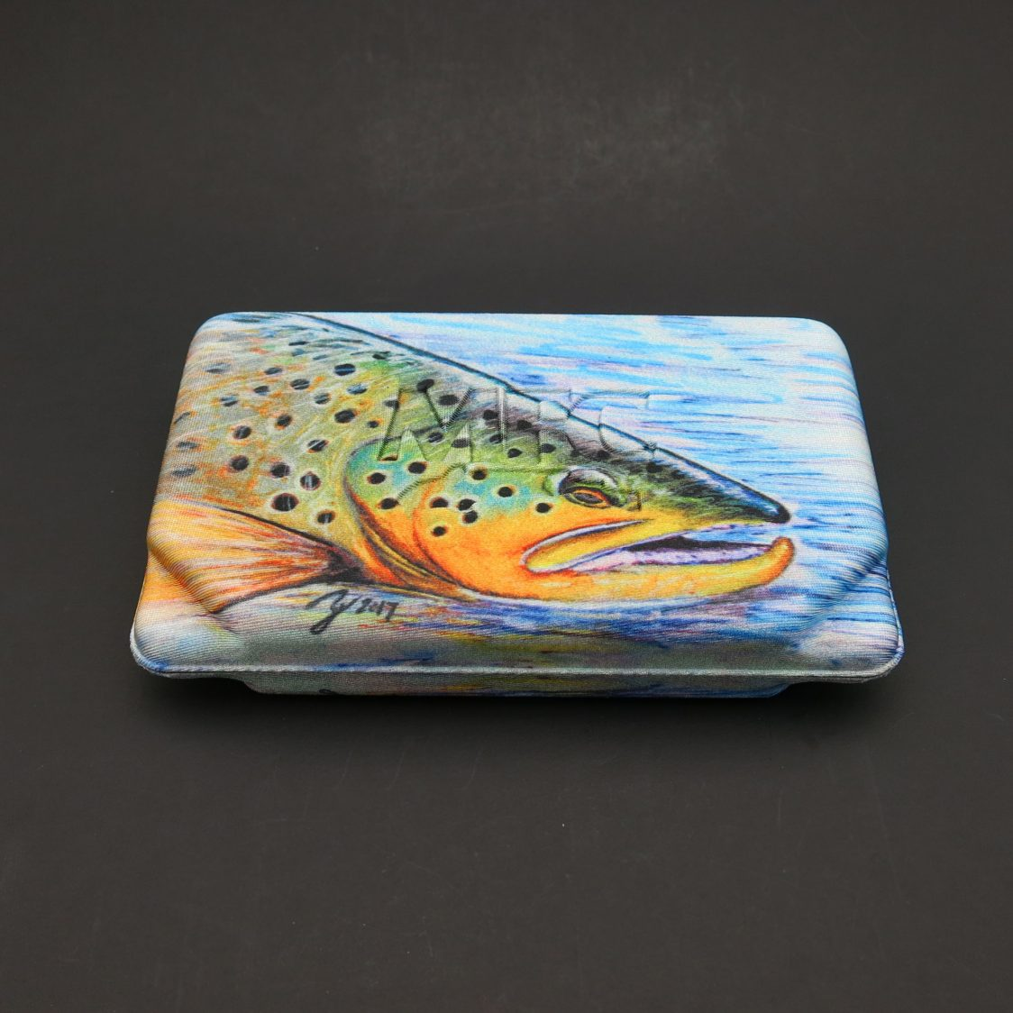 MFC Flyweight Fly Box - Hallocks Brown Trout