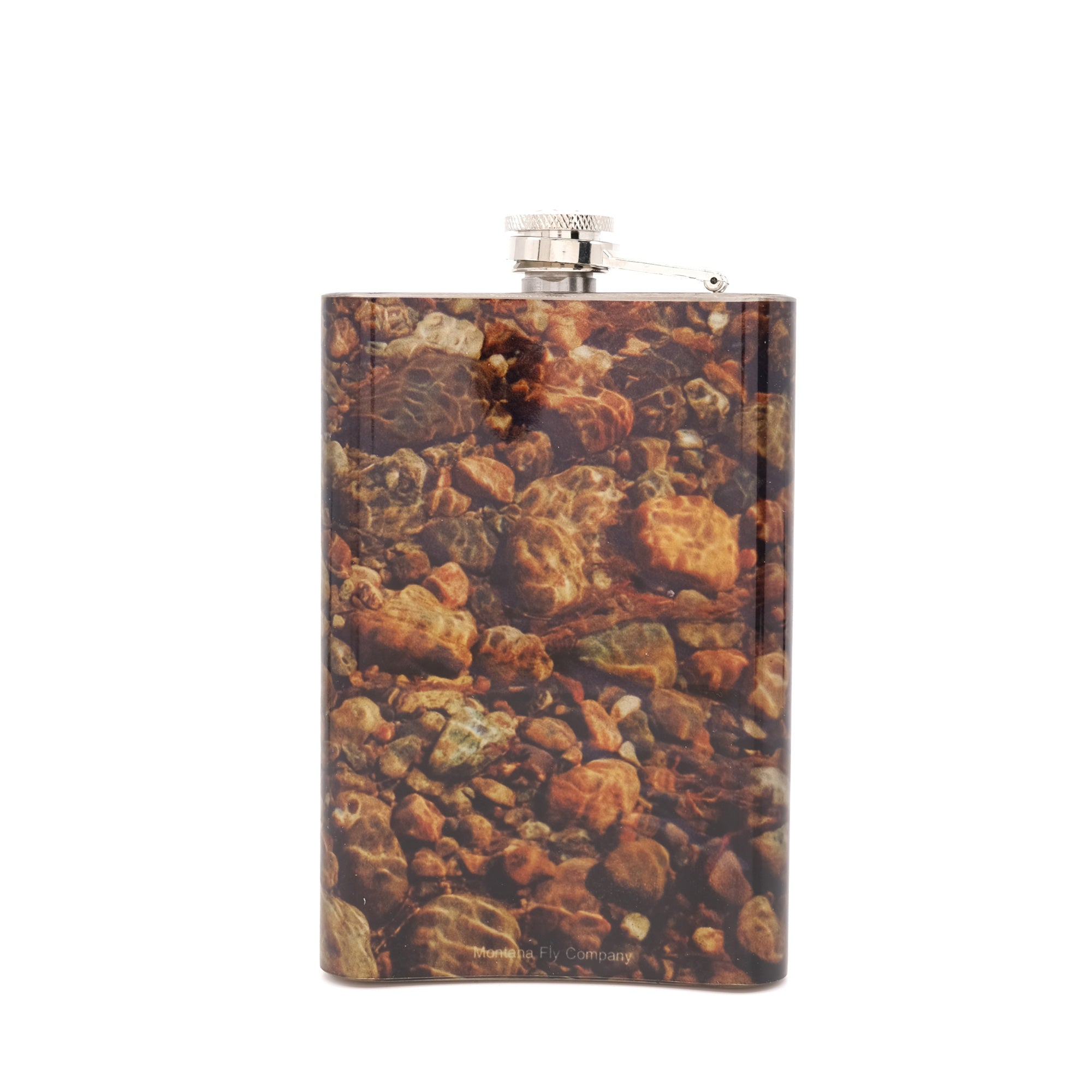 MFC Hip Flask - River Rock