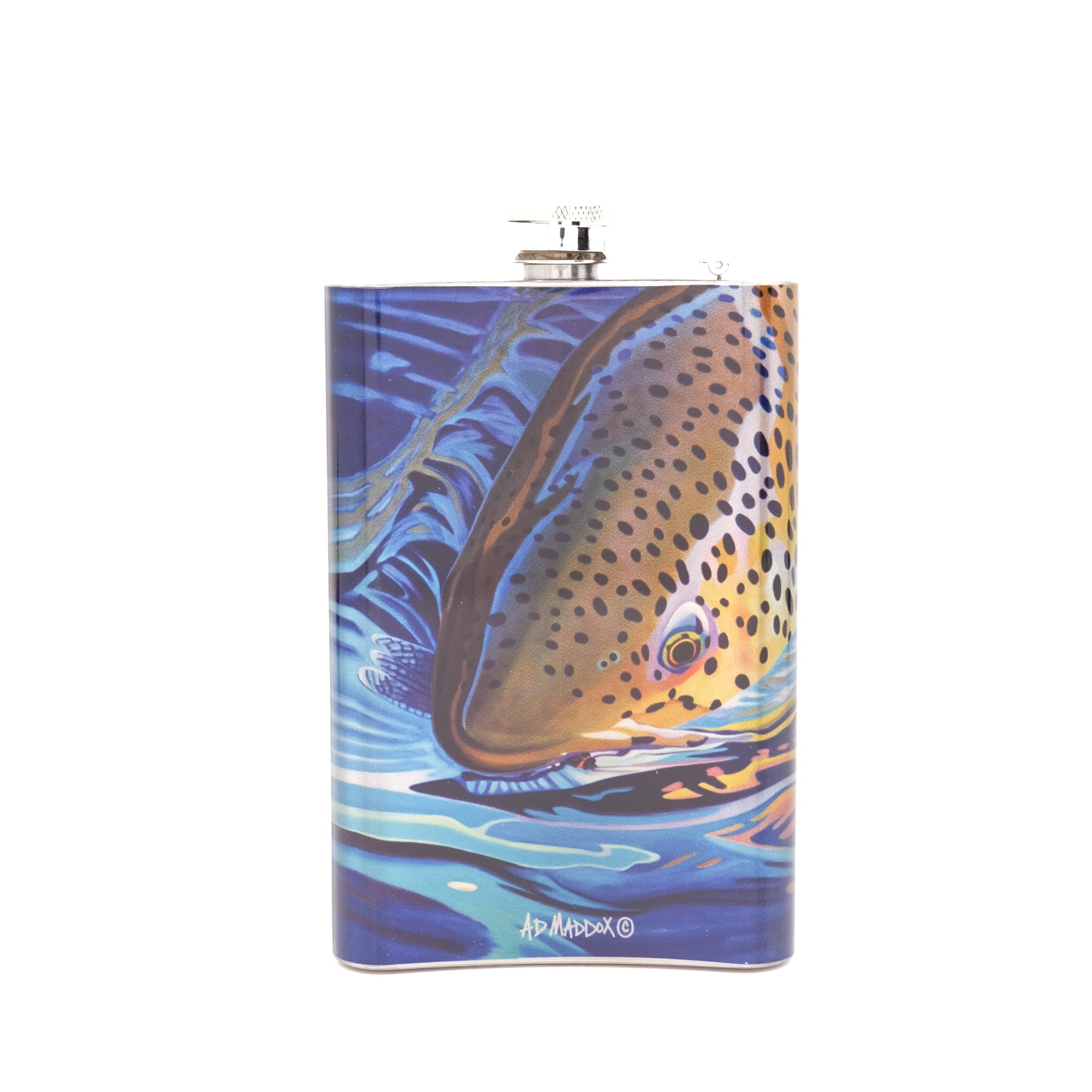 MFC Hip Flask - Maddox's Salmonfly Snack