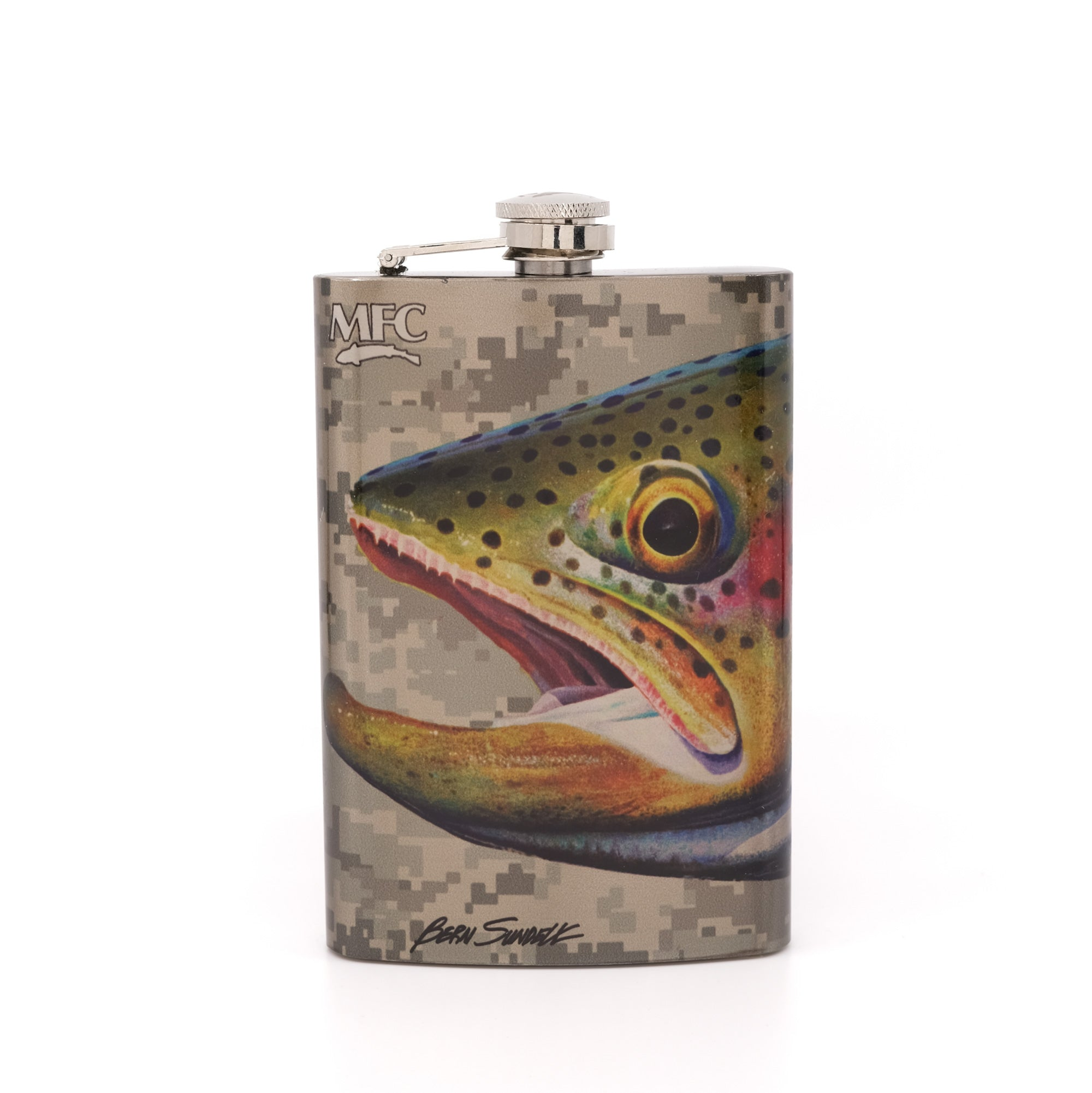 MFC Hip Flask - Sundell's Starlight Rainbow Camo