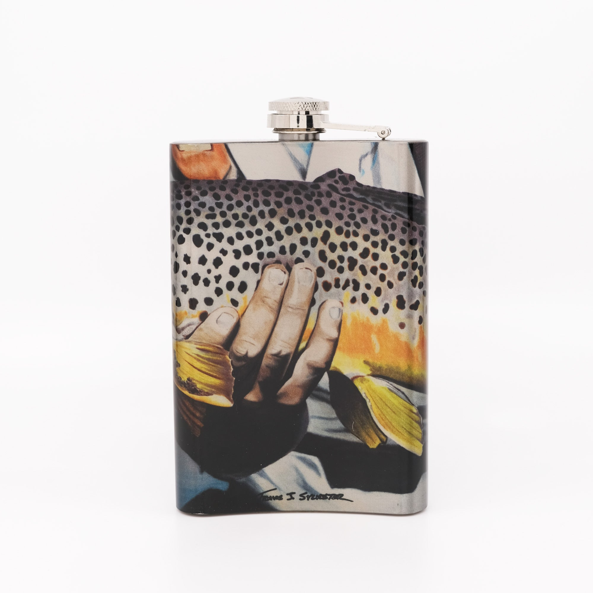 MFC Hip Flask - Sylvester's Smith River Gold