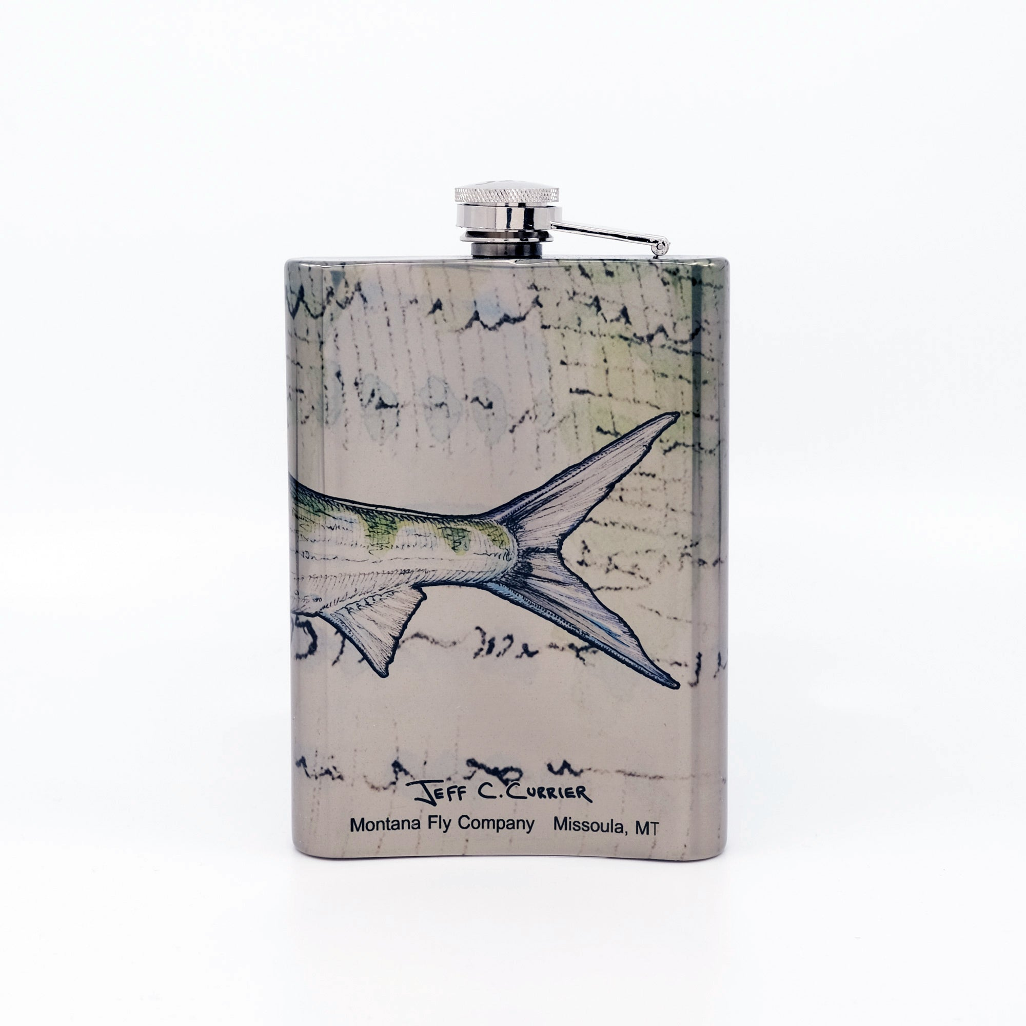 MFC Hip Flask - Currier's Bonefish