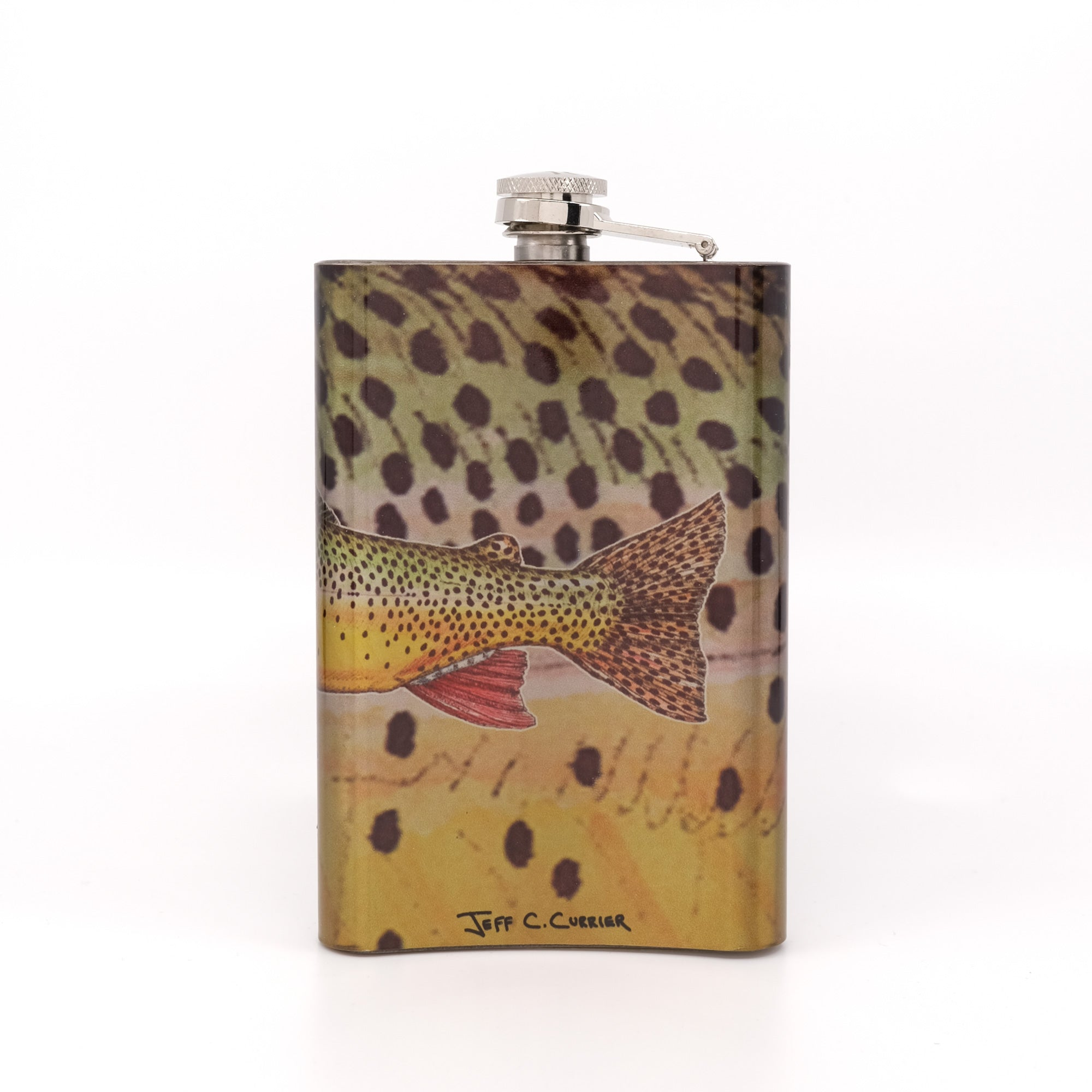 MFC Hip Flask - Currier's Snacke River Cutty