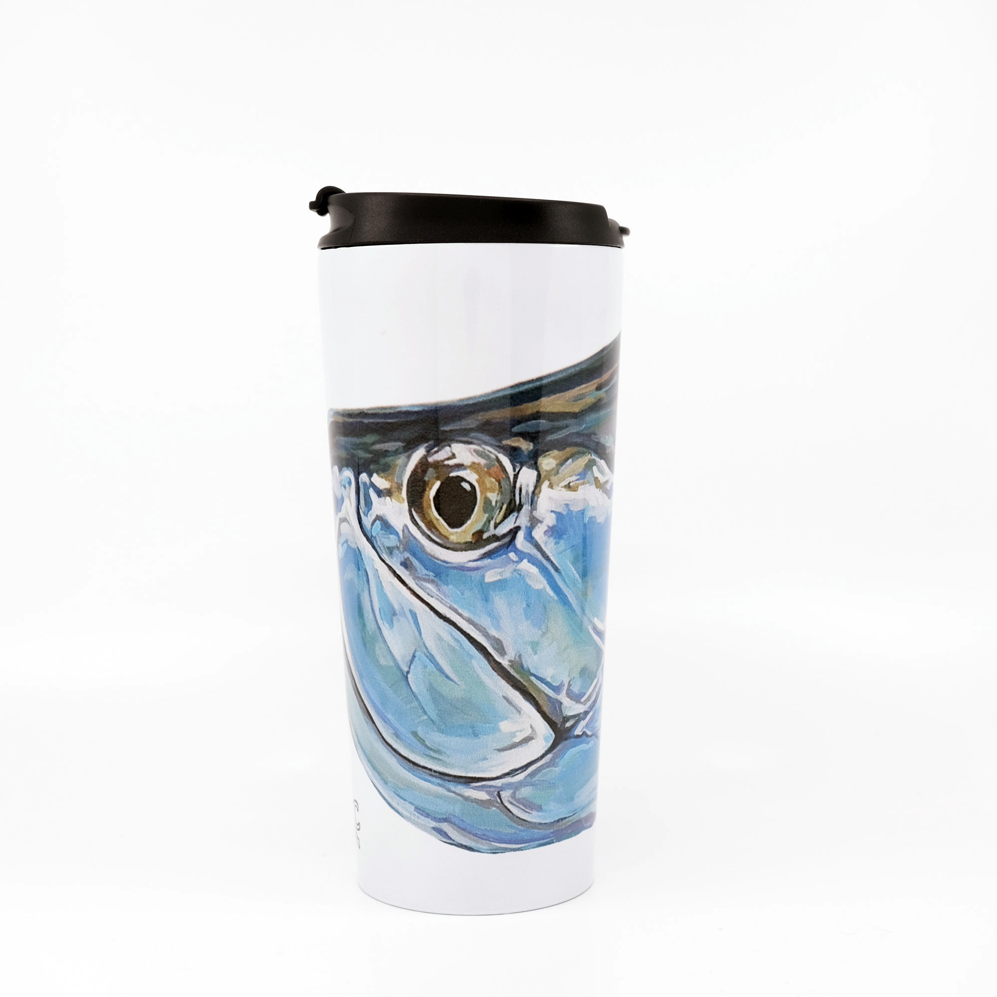 MFC Travel Mug - Udesen's Tarpon Head