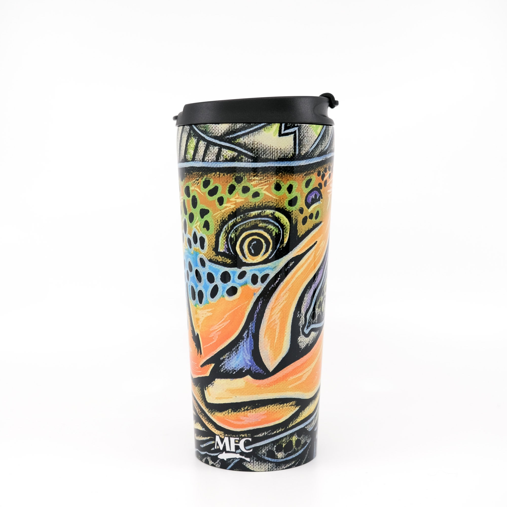 MFC Travel Mug - Estrada's Brown