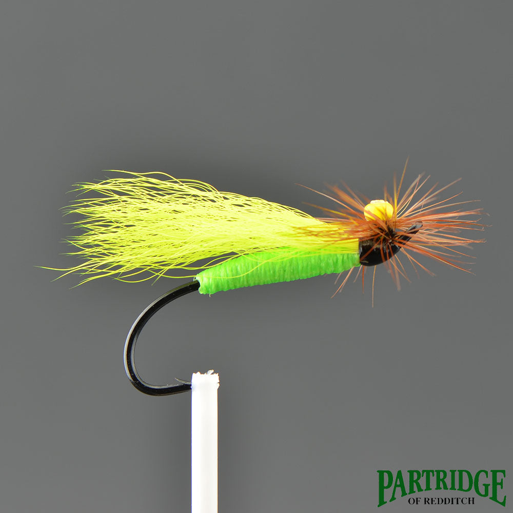 Stone Fly - Green/ Brown Hackle