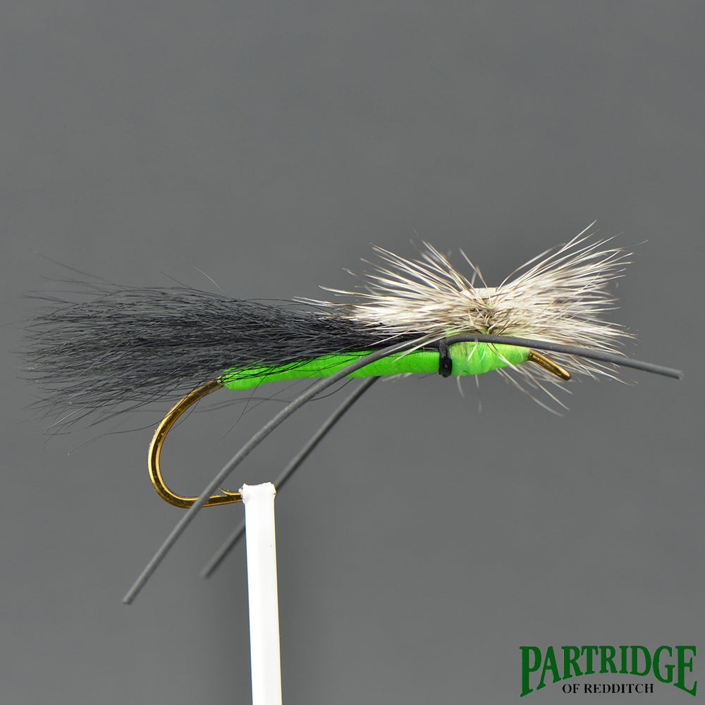 Trottinette - Black Wing/ Chartreuse Body