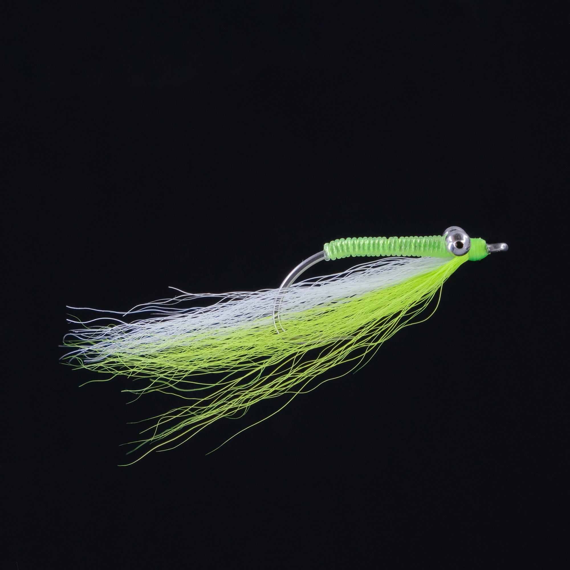 Bone Minnow - White & Chartreuse