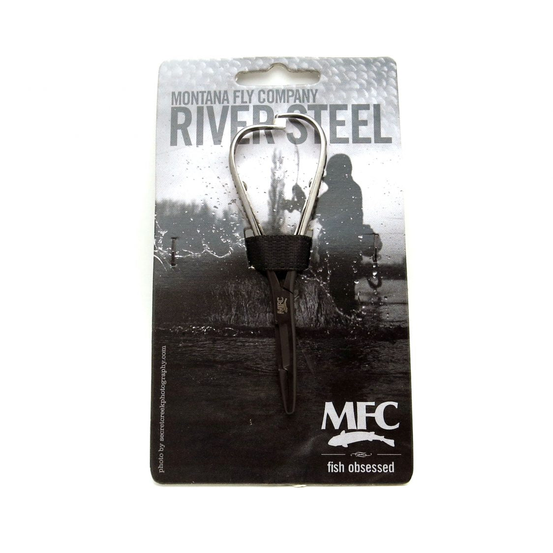MFC River Steel - 4.75″ Mitten Scissor Mini (Black/Silver)