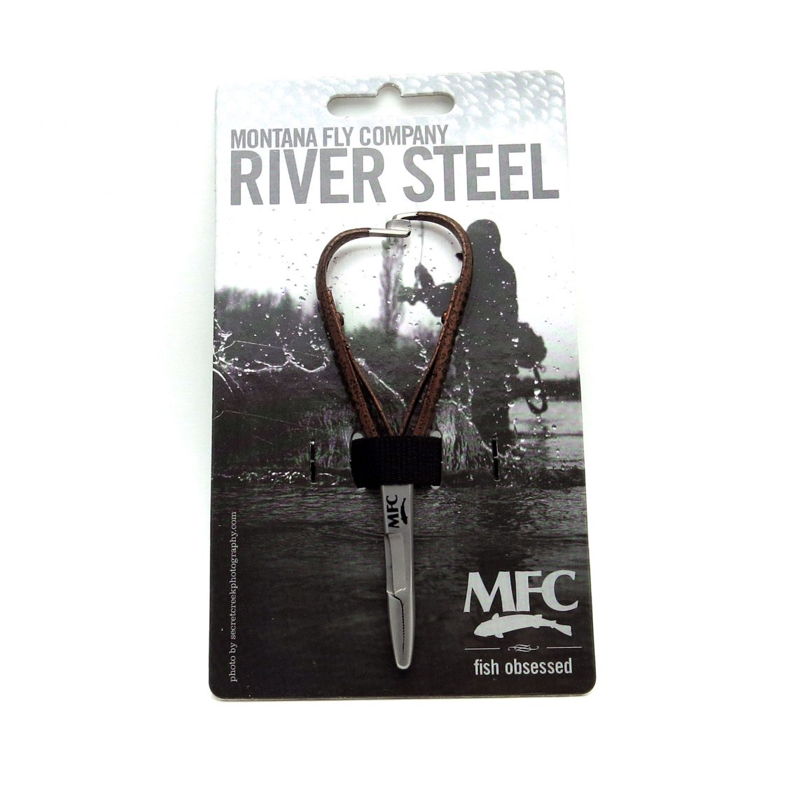MFC River Steel - 4.75″ Mitten Scissor (Hammered Copper)