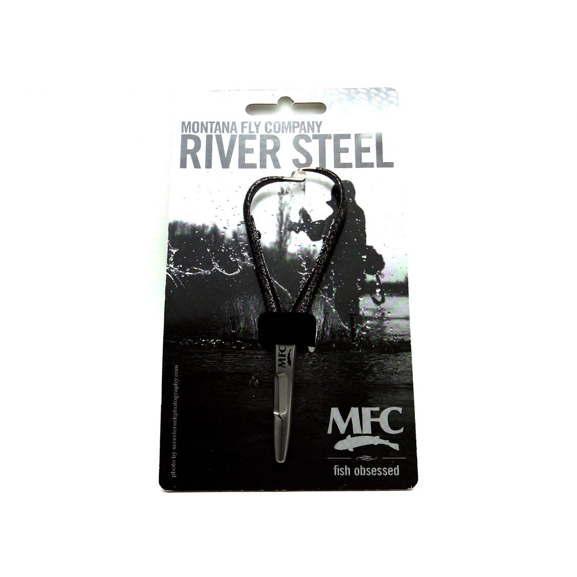 MFC River Steel - 4.75″ Mitten Clamp (Hammered Steel)