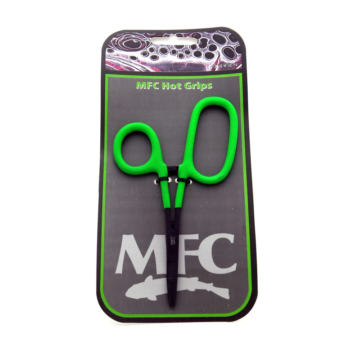 MFC Hot Grip - 5-1/2″ Sciz-ceps Closed Loop (Chartreuse)