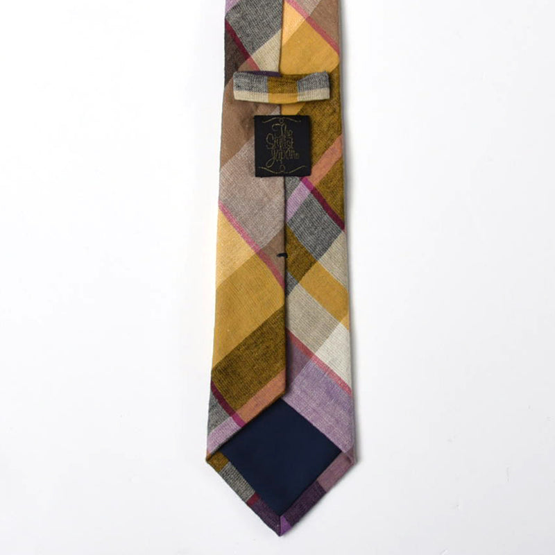 BIG CHECK TIE