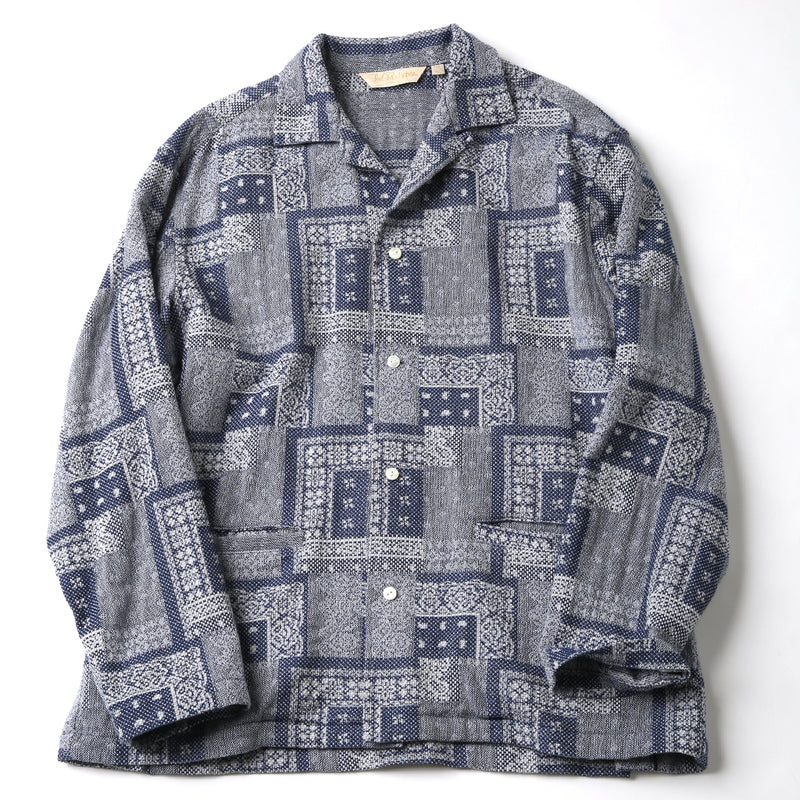 SASIKO SHIRT JACKET