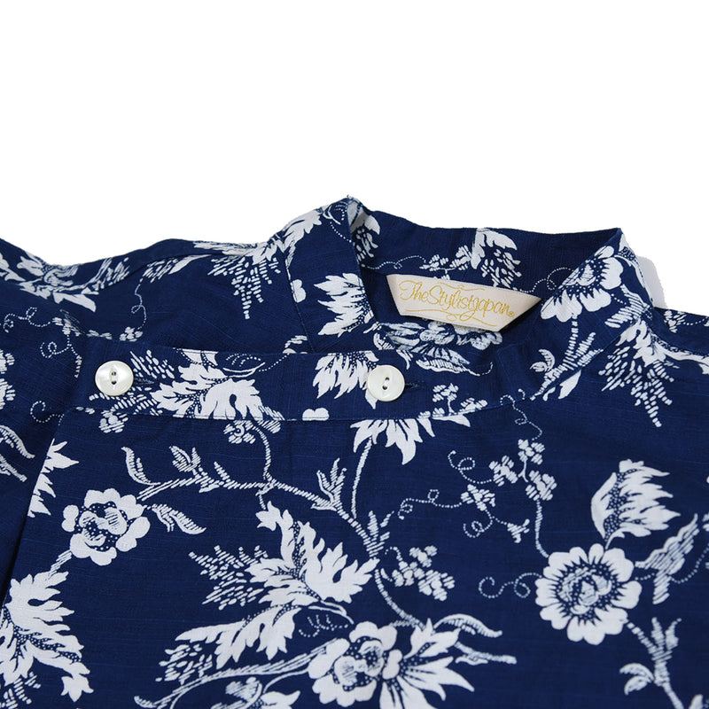 JAPANESE STYLE FLOWER PRINT OVER SHIRTS