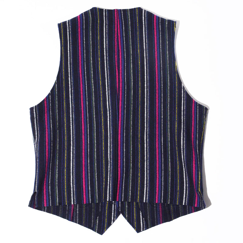 MULTI STRIPE KNIT VEST