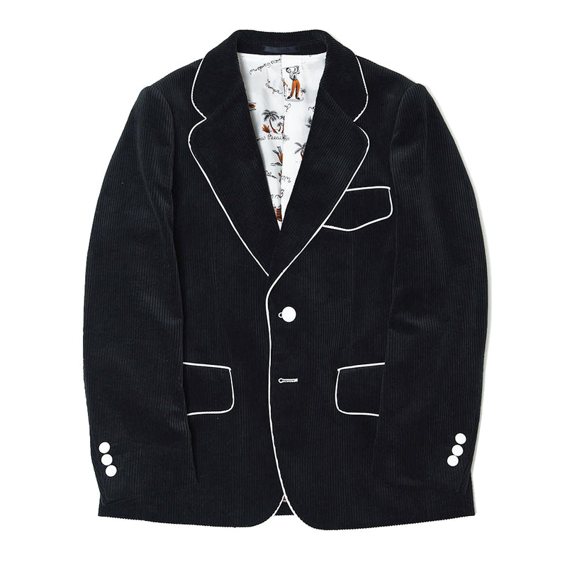 PIPING CORDYROY JACKET