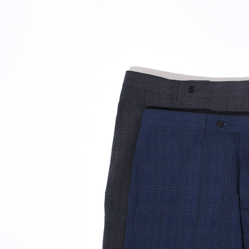 GLEN CHECK COOLMAX PANTS