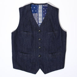 KAIHARA 9oz DENIM  VEST