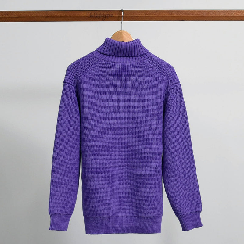 HIGH NECK KNIT