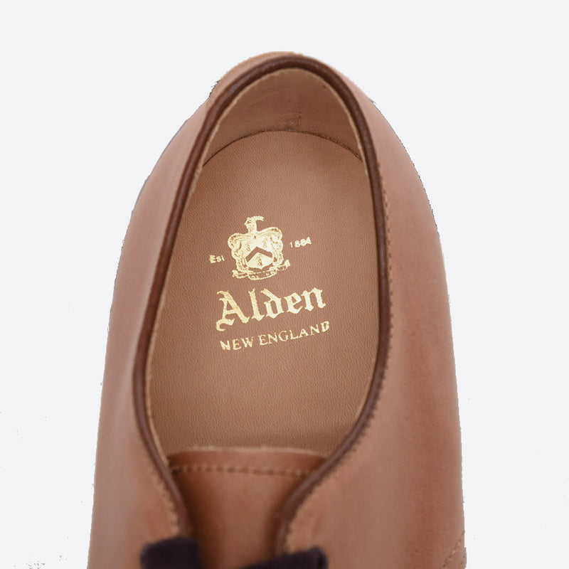ALDEN N6410 P-TOE OX CHROMEXCEL LEATHER