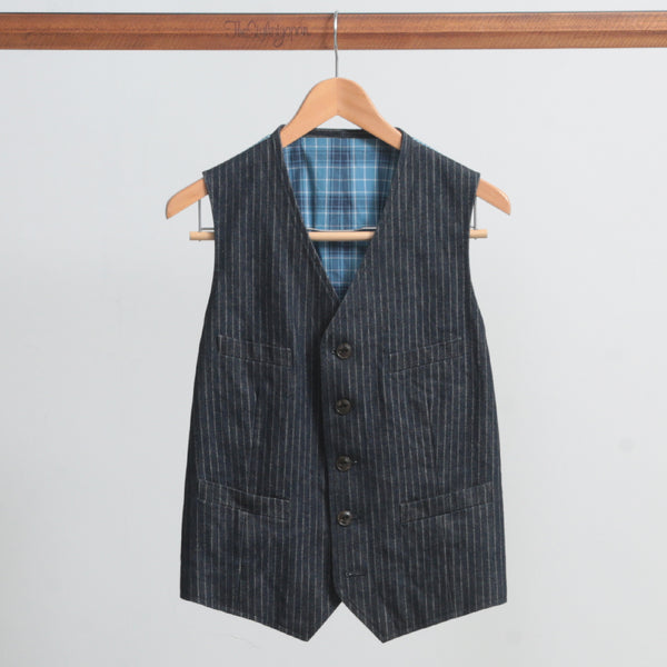 KAIHARA 13.5oz DENIM VEST