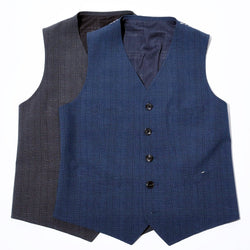 GLEN CHECK COOLMAX VEST