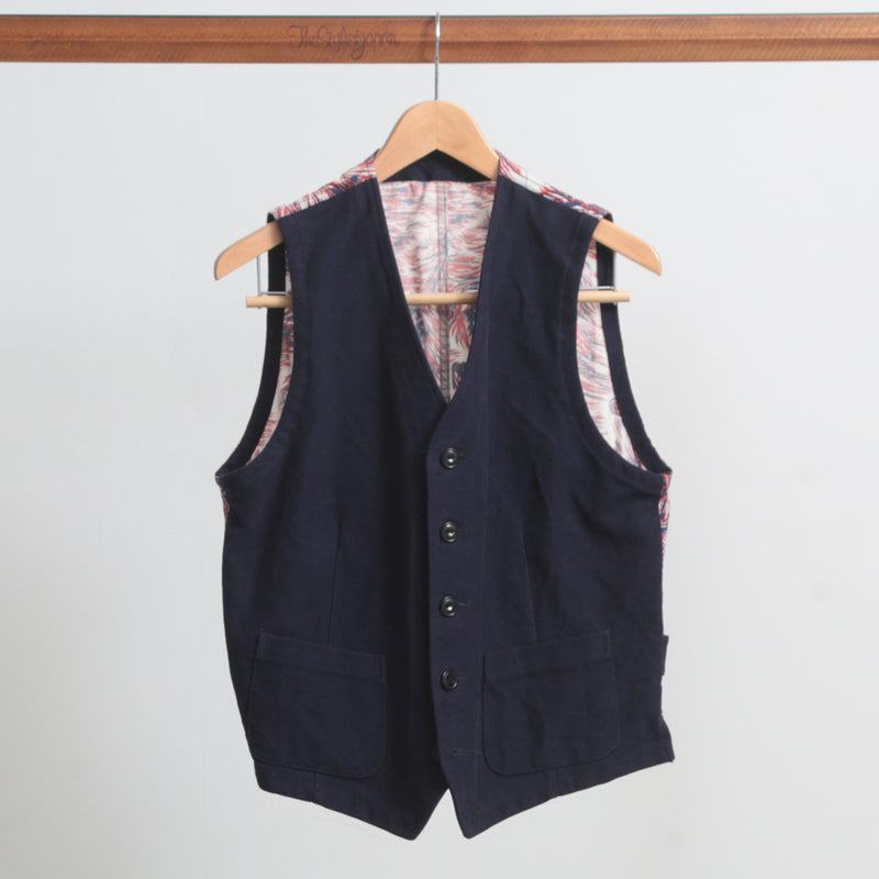 TENDERLOIN × The Stylist Japan MOLESKIN VEST