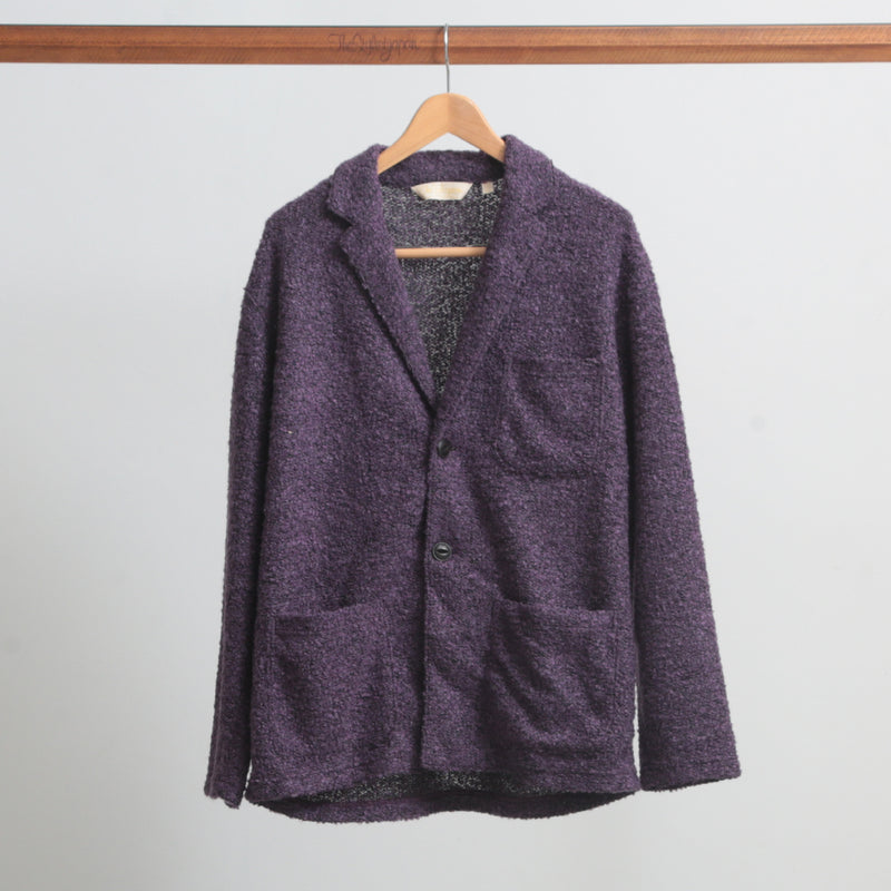 MOHAIR KNIT JACKET