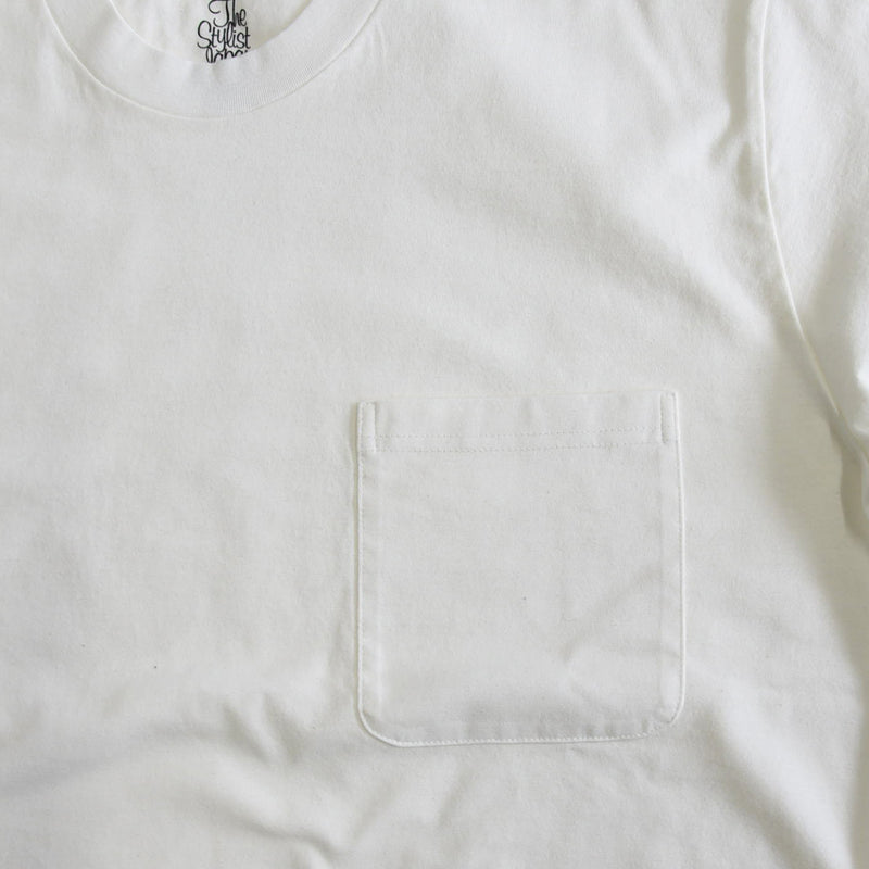 POCKET LONG SLEEVE CUT AND SEAW