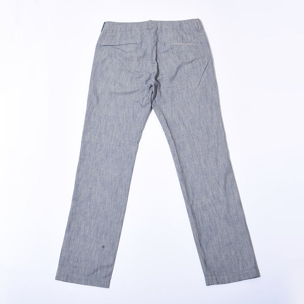 INDIGO STRIPE LPOCKET PANTS