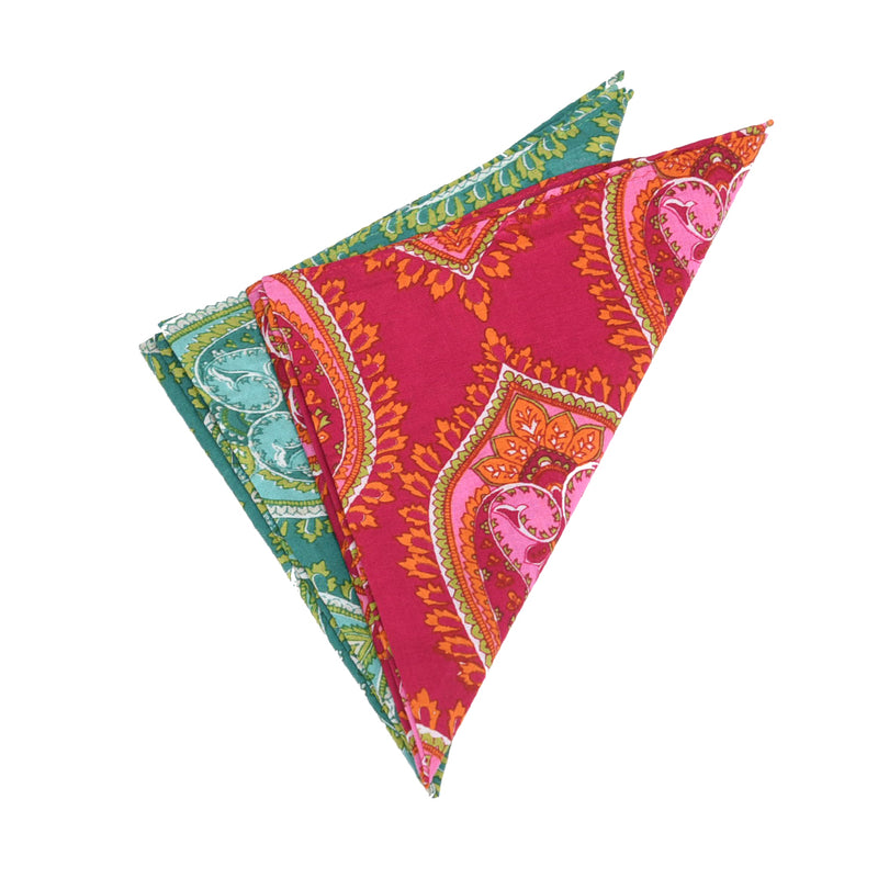 INDIAN PAISLEY POCKET CHIEF