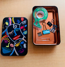 Load image into Gallery viewer, Hand Painted Storage Tin