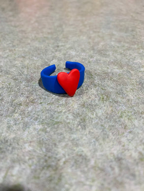 Superman Heart Ring