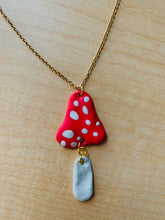 Load image into Gallery viewer, Mushroom Necklace