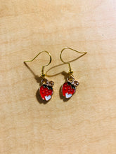 Load image into Gallery viewer, Strawberry Earrings