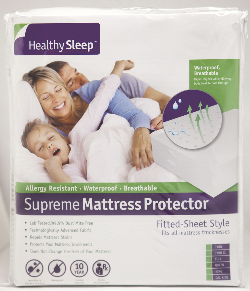 Supreme Zippered Bed Bug Mattress Encasement