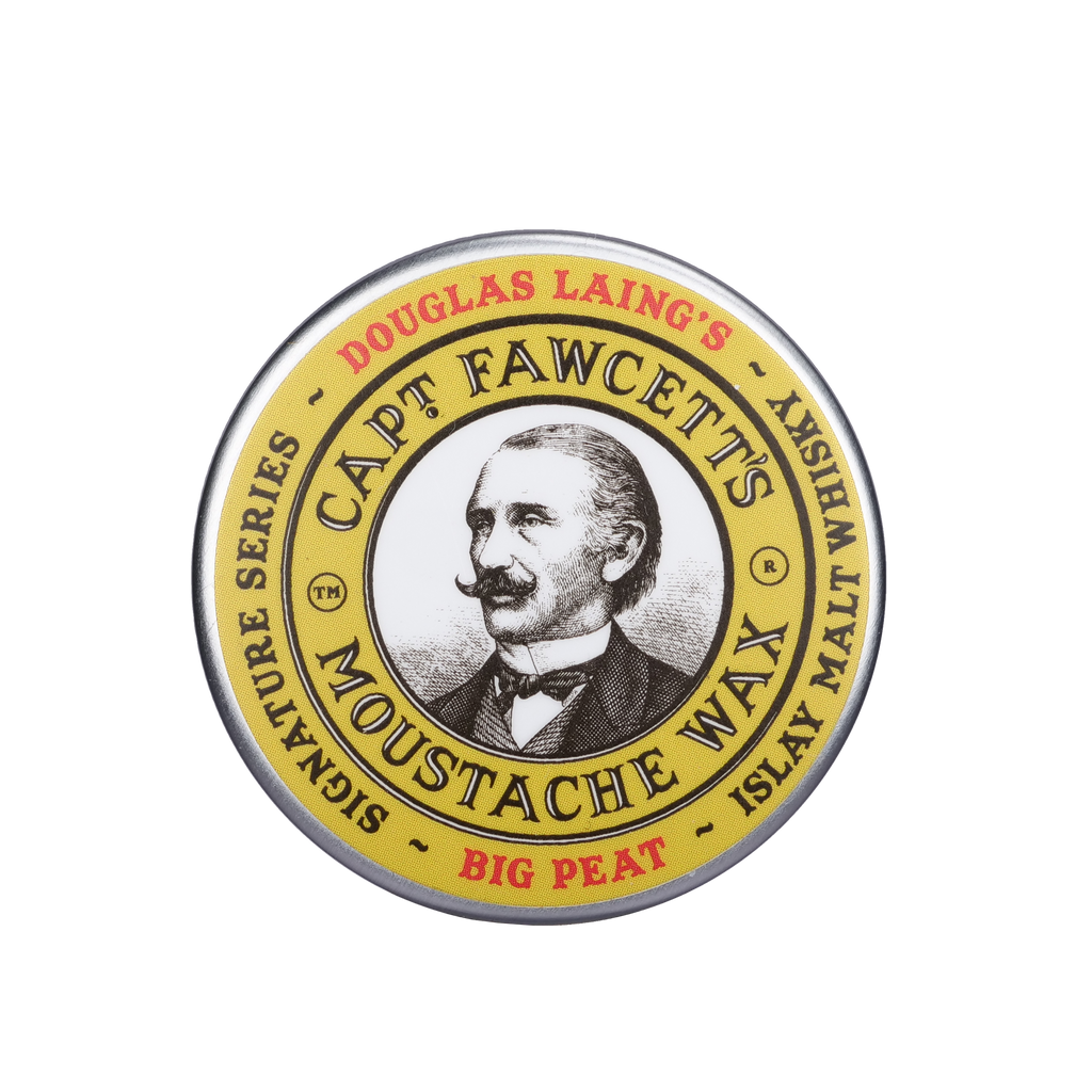 Captain Fawcett Moustache Wax BIG PEAT Islay Malt Whisky
