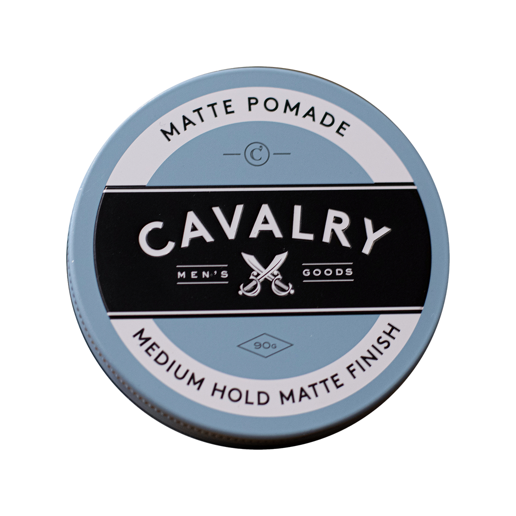 matte pomade for medium hold styling and a matte finish