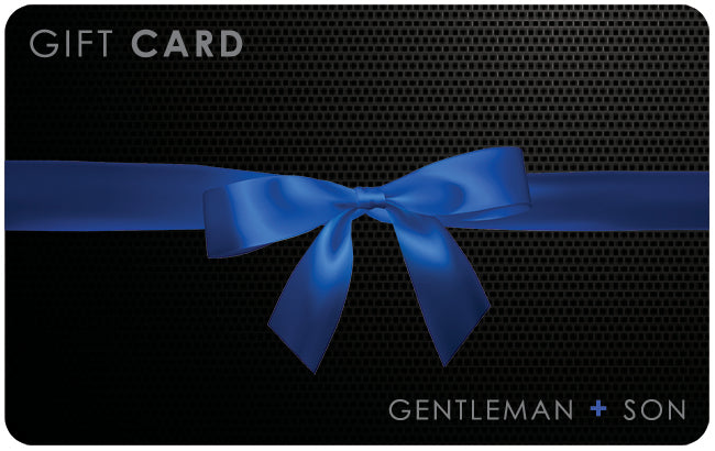 Gift Card for men's grooming products
