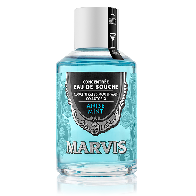 Anise Mint flavoured mouthwash Marvis