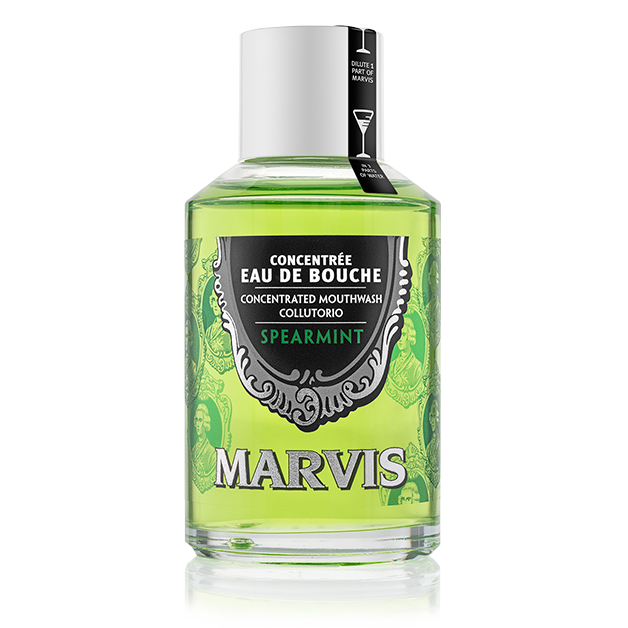 Spearmint flavoured mouthwash Marvis
