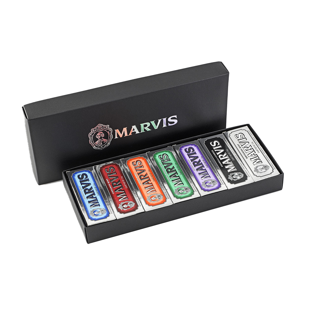 Marvis Black Box with 7 Flavours