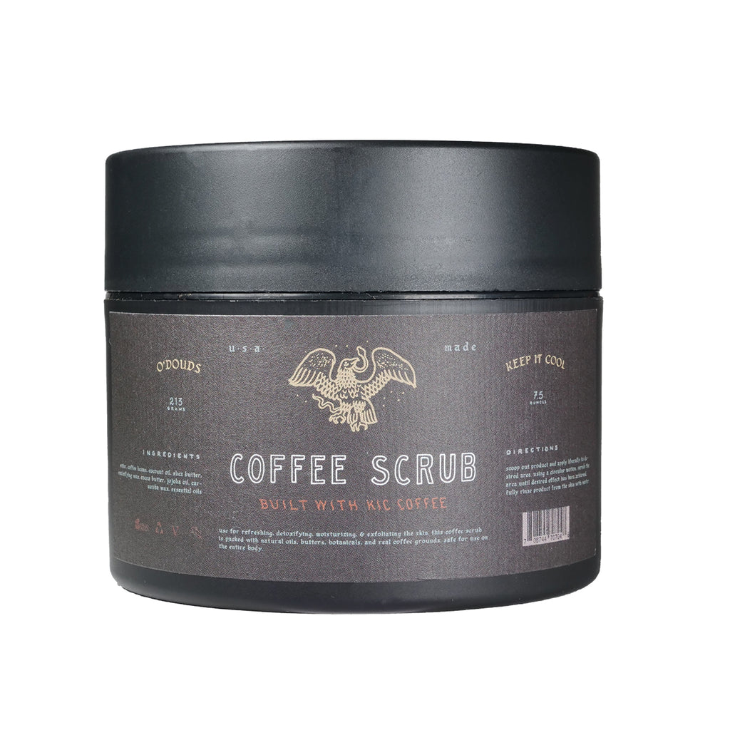 coffee body scrub exfoliator