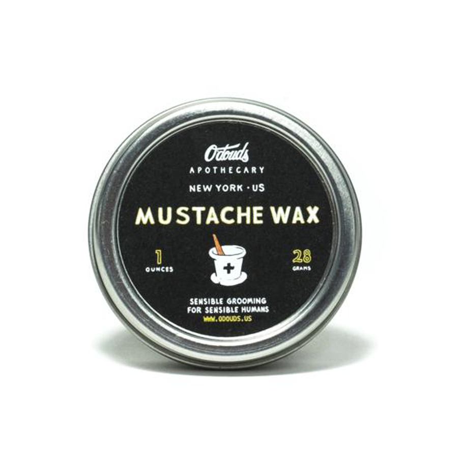 Moustache wax with a firm hold