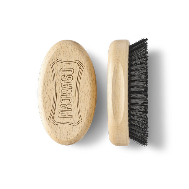 Proraso military brush for beards and hair