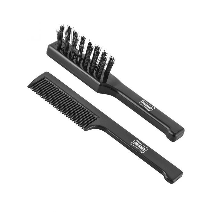 Proraso Moustache Brush and Comb Set