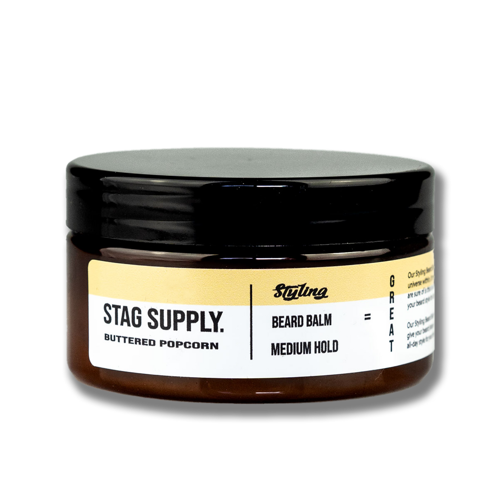 Stag Supply Buttered Popcorn Beard Balm - 100ml