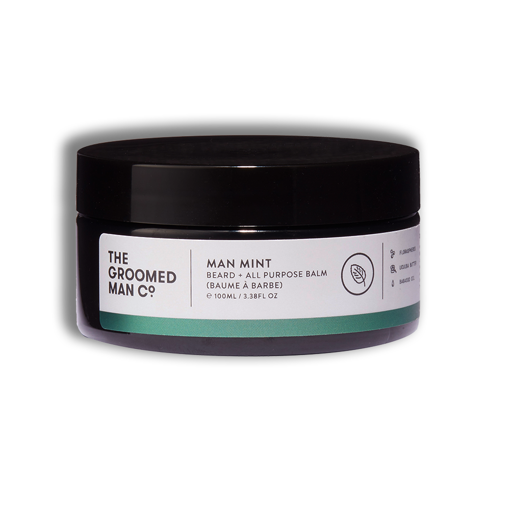 The Groomed Man Co Man Mint Beard Balm