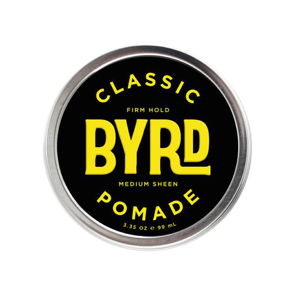 classic pomade with firm hold and medium sheen